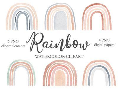 watercolor-rainbow-clipart