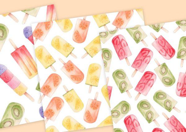 popsicles-digital-paper