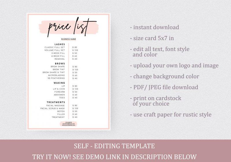 price-list