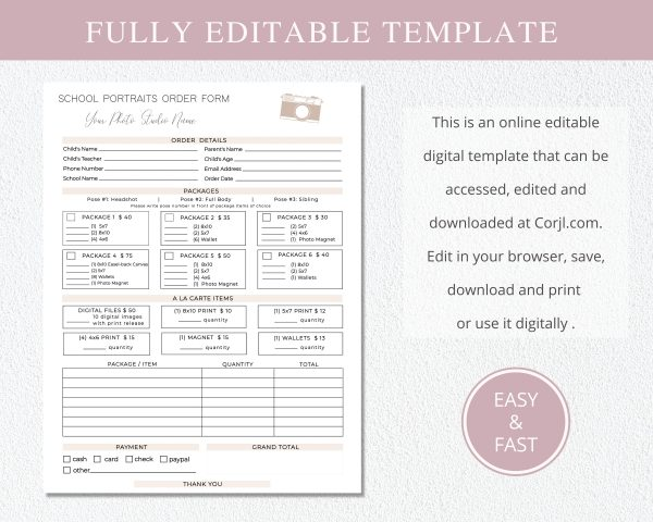 school_photography_order_form