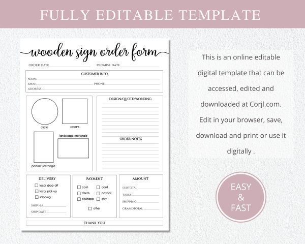 wooden_order_form_editable_template