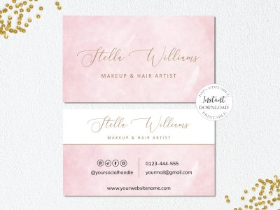 PRINTABLE BUSINESS CARD TEMPLATE,...
