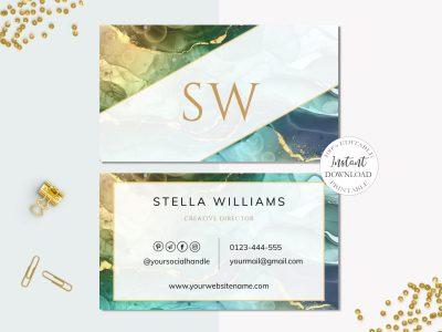 BUSINESS CARD EDITABLE TEMPLATE,...